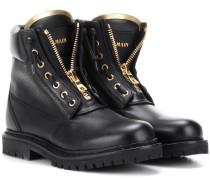 Ankle Boots Taiga aus Leder