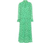 Bedrucktes Kleid Dainty aus Crêpe