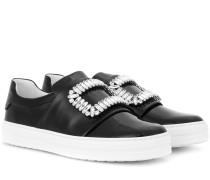Verzierte Sneakers Sneaky Viv' aus Lackleder
