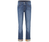 Boyfriend-Jeans Patworch