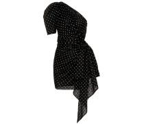 One-Shoulder Minikleid aus Baumwolle