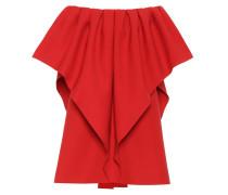 Off-Shoulder-Kleid aus Wolle