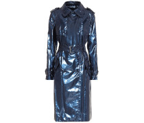 Trenchcoat in Metallic-Optik