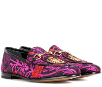 Loafers Jordaan aus Brokat