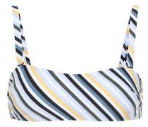 Gestreiftes Bikini-Oberteil