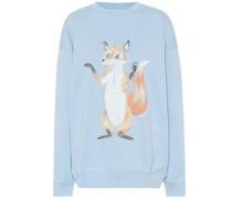 Sweatshirt Fox aus Baumwolle