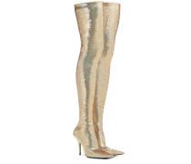 Overknee-Stiefel mit Pailletten