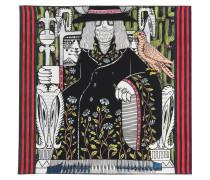 Bedruckter Seidenschal Emperor