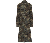 Kleid aus Baumwolle und Cashmere