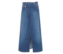 Jeansrock aus Stretch-Baumwolle