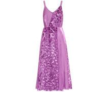 Kleid Rosa aus Georgette und Satin
