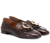 Loafers C aus Leder