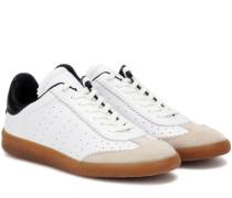 Sneakers Bryce aus Leder