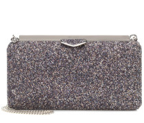 Clutch Ellipse mit Glitter