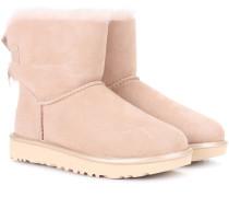 Boots Mini Bailey Bow II aus Veloursleder