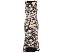 Bedrucktes Volants-Kleid