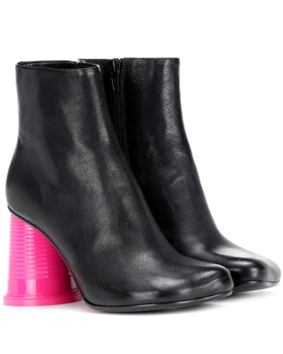 Maison Margiela Damen Ankle Boots aus Leder Rabattpreise 2018 Rabatt Die Billigsten r6vCG4Ll
