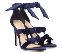 Sandalen Lolita aus Samt