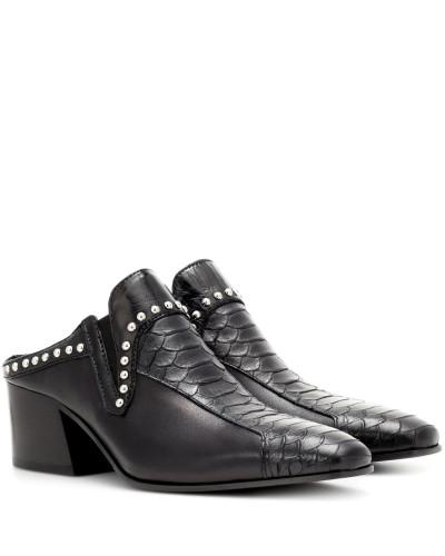 Acne Damen Verzierte Mules Kamir aus Leder Großhandelspreis Online Aaa Qualität Verkaufsqualität Erhalten Authentisch Zu Verkaufen Neue Online-Verkauf imIbF