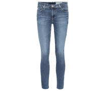 Mid-Rise Jeans The Legging Ankle