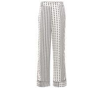 Pyjama-Hose mit Polka-Dots