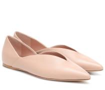 Ballerinas Fisher aus Nappaleder