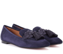 Loafers Legend aus Veloursleder