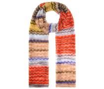 Schal aus Mohair und Alpaca