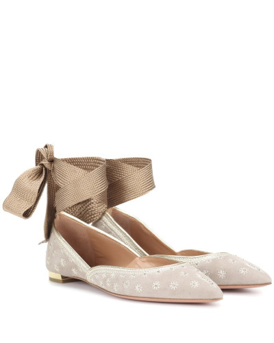 Ballerinas Bliss aus Veloursleder