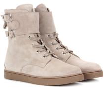 High-Top-Sneakers Wayne aus Veloursleder