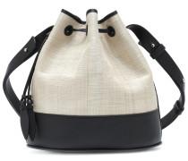 Bucket-Bag The Drawstring mit Leder