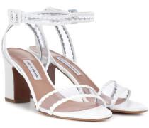 Sandalen Leticia Frill aus Leder