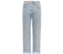 Verzierte Jeans aus Baumwolle
