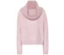 Pullover mit Mohair und Wolle