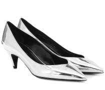Pumps Kiki 55 aus Metallic-Leder