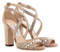 Sandalen Carrie 100 aus Veloursleder