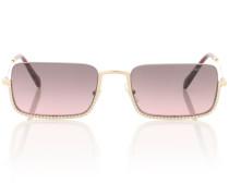 Reckteckige Sonnenbrille
