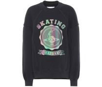 Sweatshirt aus Baumwolle