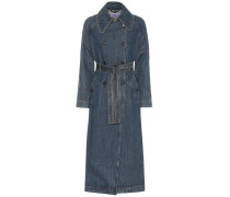 Trenchcoat aus Denim