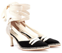 Espadrille-Pumps Manolo Medium