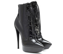 Ankle Boots Betty 110 aus Lackleder