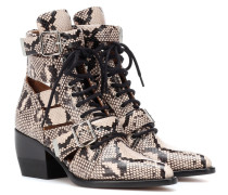 Ankle Boots Rylee Medium aus Leder
