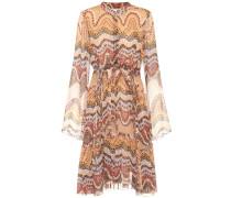 Exklusiv bei mytheresa – Bedrucktes Kleid aus Seide