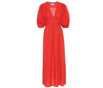 Kleid Avery aus Baumwolle und Leinen