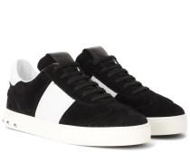 Garavani Sneakers Flycrew aus Veloursleder