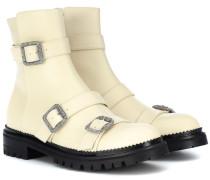 Ankle Boots Hank aus Leder