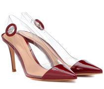 Slingback-Pumps Alice aus Lackleder