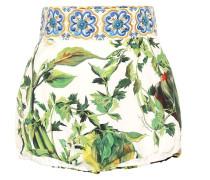 Bedruckte Shorts aus Baumwolle