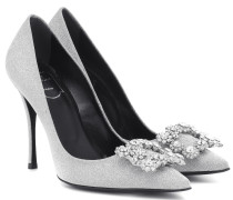 Pumps Flower Strass 100
