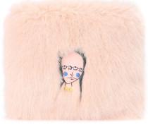 Clutch Finola aus Faux Fur